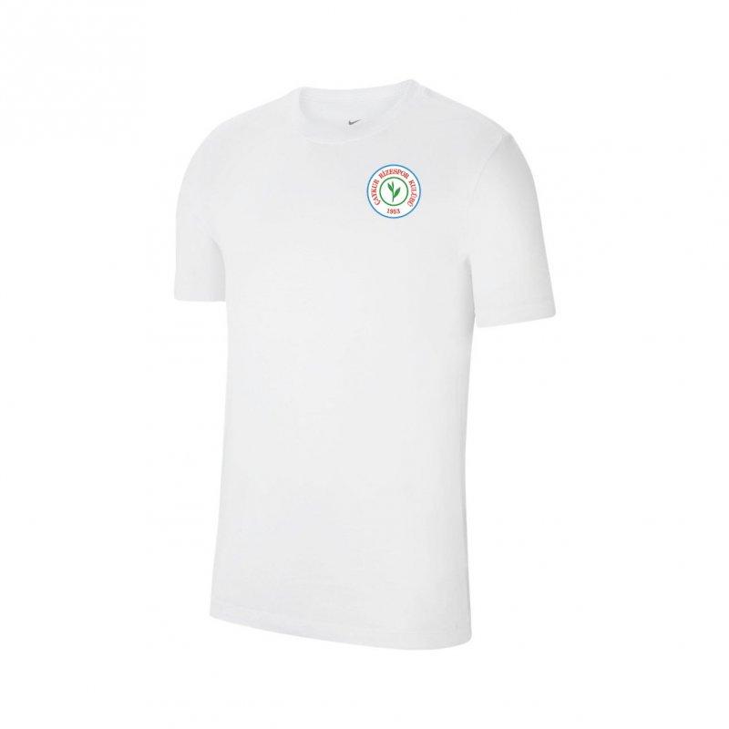 Cz0881 Tişört Pamuklu Beyaz