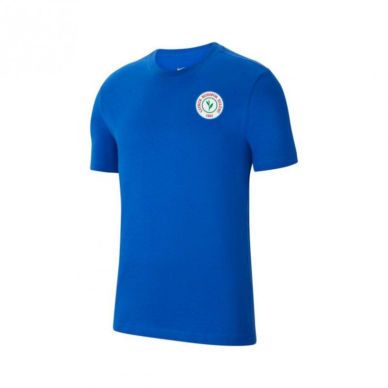 Cz0881 Tişört Pamuklu Mavi
